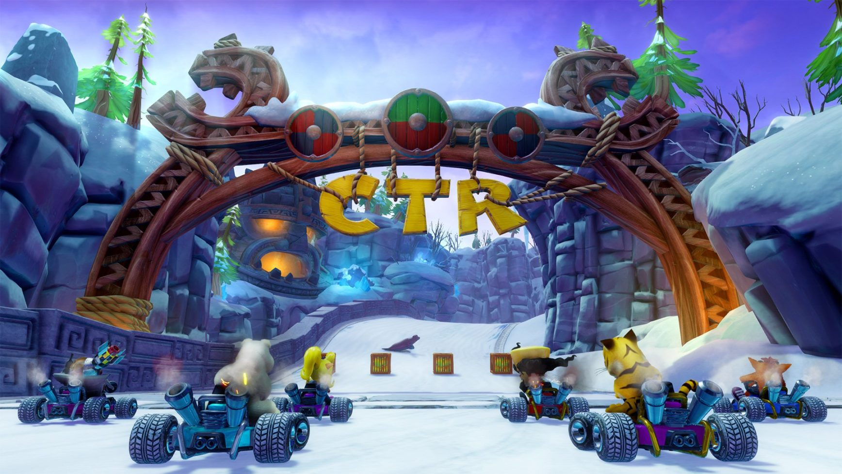 Crash Team Racing Nitro-Fueled - screen - grid start