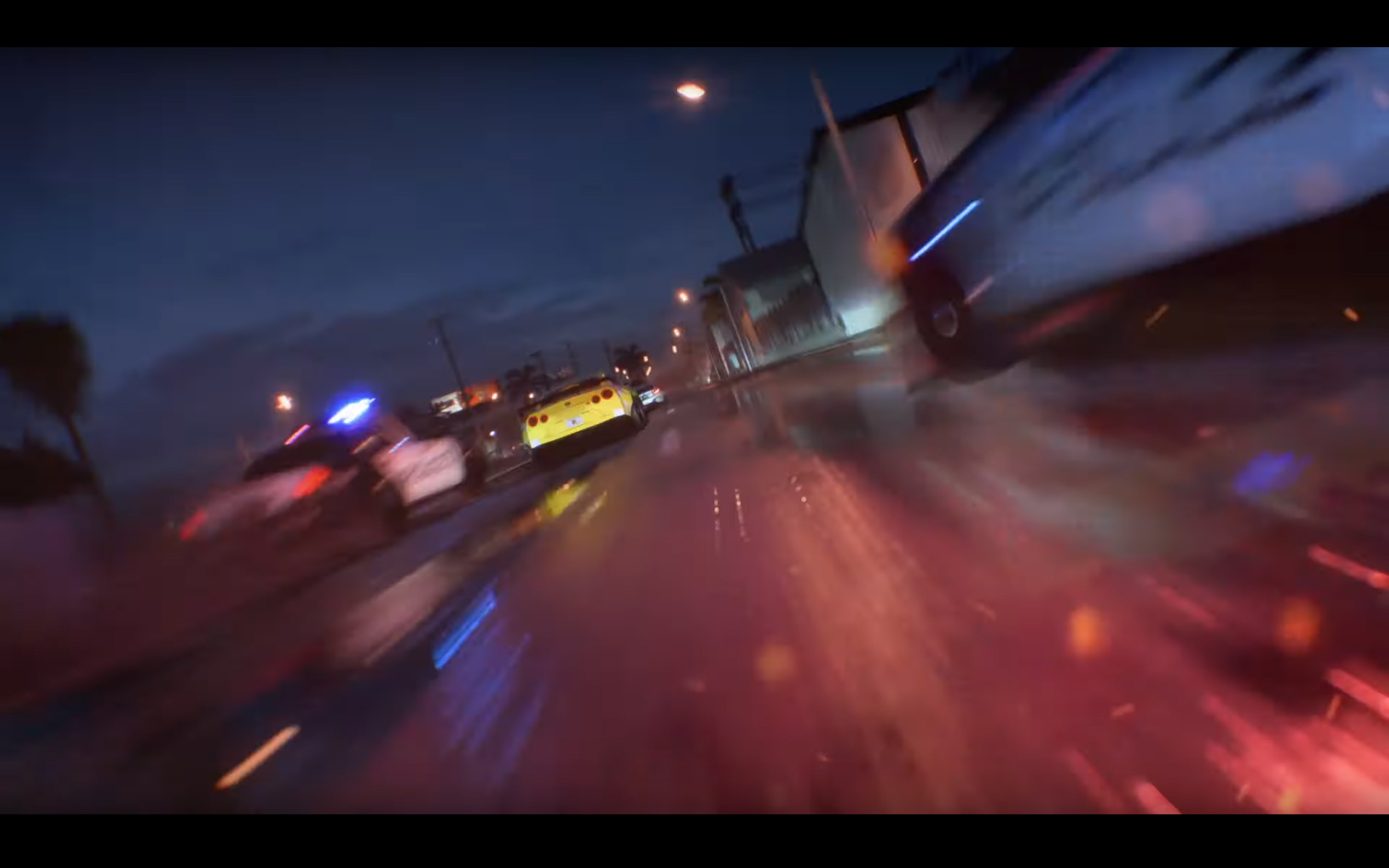 NFS-Heat-2019-screen-trailer-Nissan-GT-R-speed-rear-face-night-pursuit