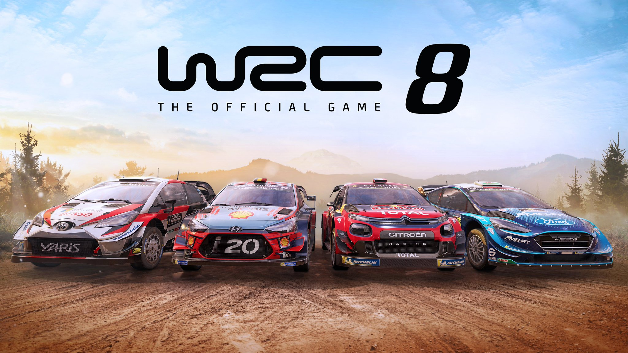 WRC 8 by Kylotonn - gaming racing rallye - 2019 - cover